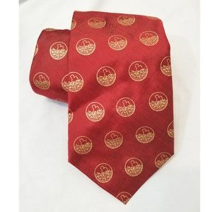 Other - 🔥 CLEARANCE 🔥 Thai Silk Tie Red Gold